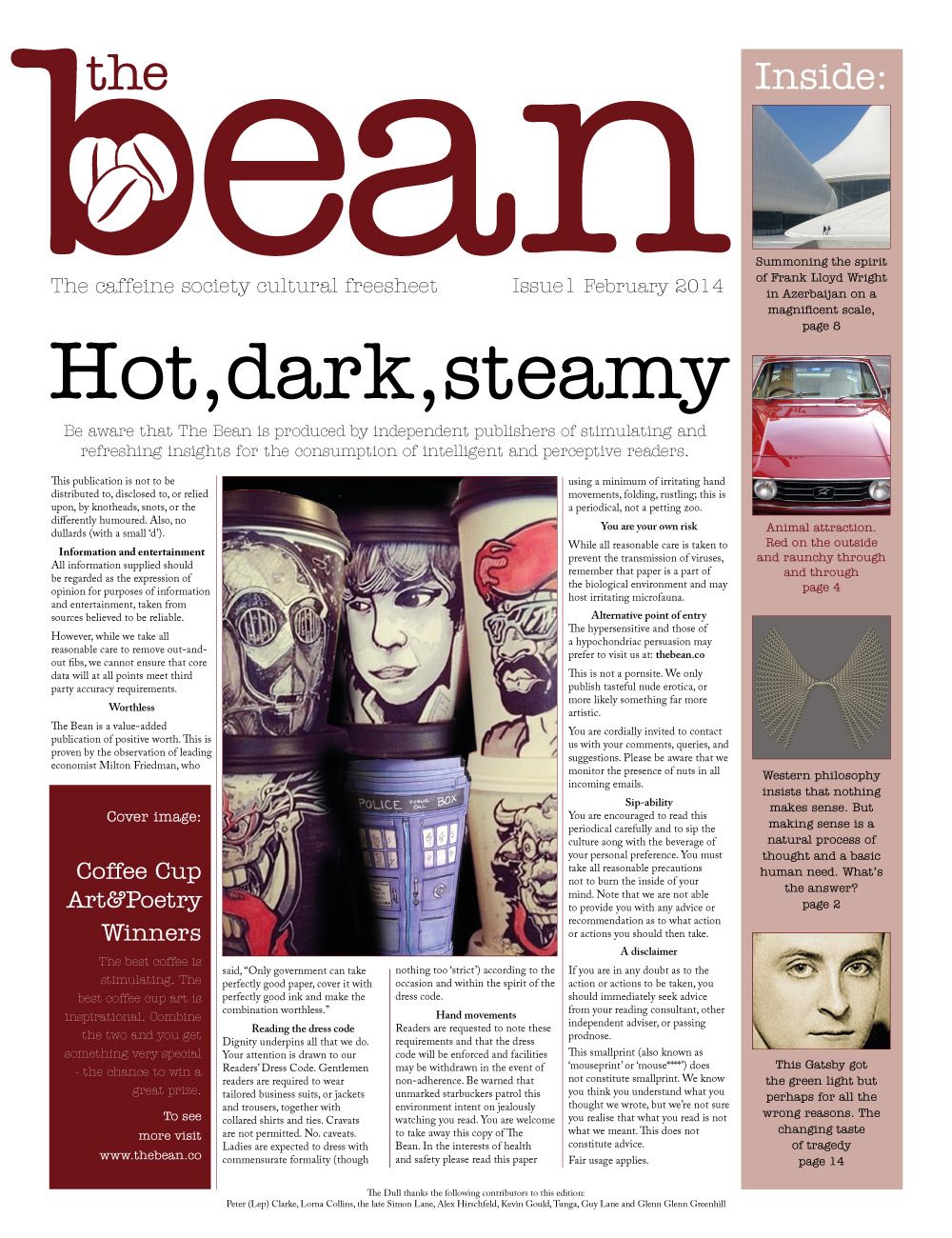 the_bean_freesheet_frontpage_1